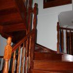 Escaleras en madera, carpintería