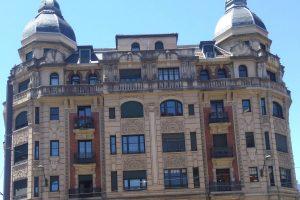 Restauración de fachada de edificio