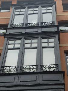 Reparación de fachada en Casco Viejo